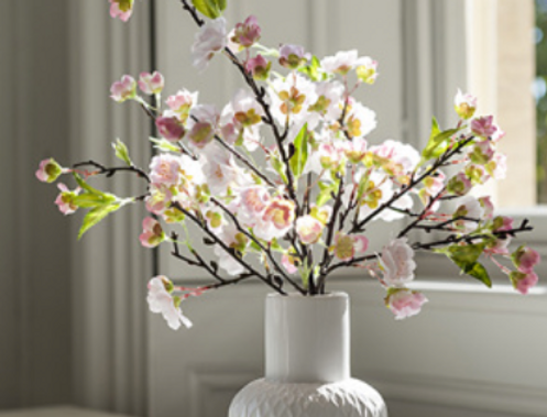 Blossom In Geometric Vase