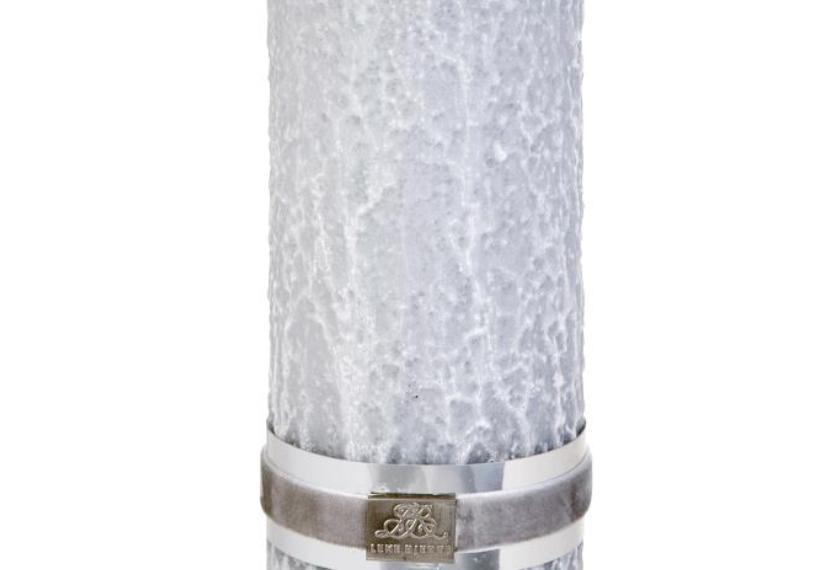 Lene Bjerre Stone Grey Pillar Candle