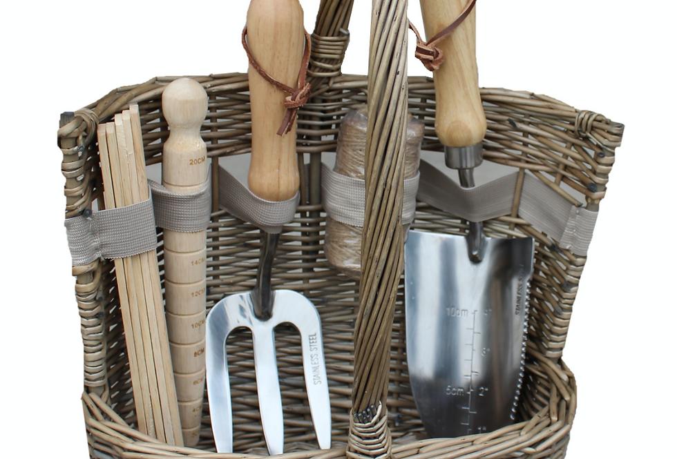 Willow Garden Tool Basket Small