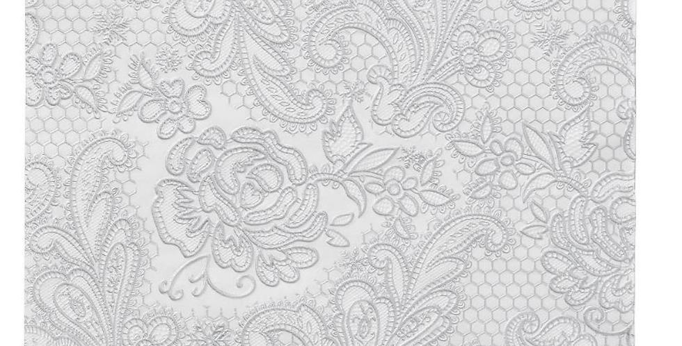 Lace Paper Napkin - White