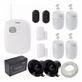 Kit completo Selva Alarmes com tecnologia Interlbras para segurança de sua residencia ou comércio