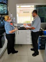 Controle de Acesso e Portaria - Equipe treinada e dedicada para garantia a segurança e proteção