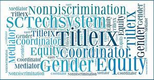 Title IX- Now you must face the accused.