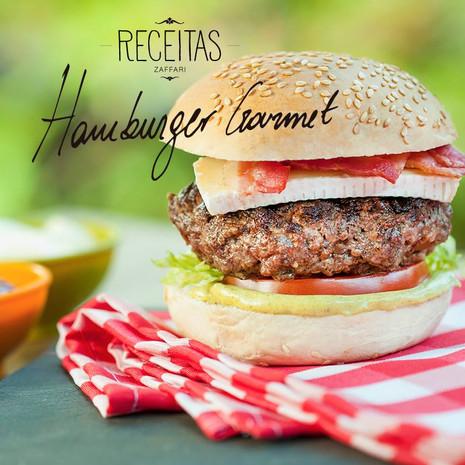 Receitas Zaffari - Hamburger Gourmet.