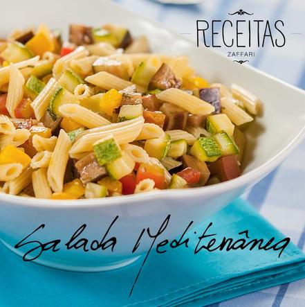 Receitas Zaffari - Salada Mediterrânea.