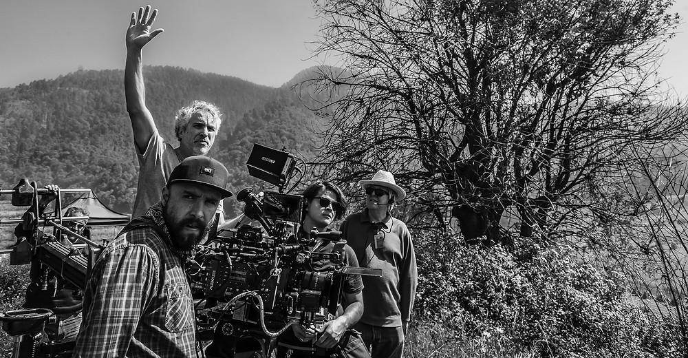 Set Up das filmagens de Roma. Câmera ARRI Rental's ALEXA 65 e lentes Prime 65.