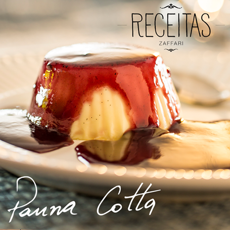 Receitas Zaffari - Panna Cotta.