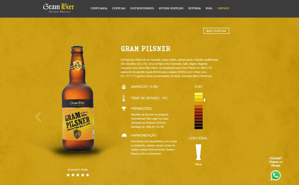 Gram Bier Pilsner.