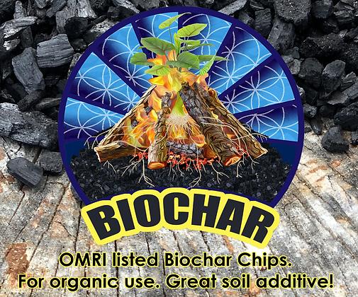 BIOCHAR CHIPS