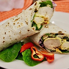 Grilled Chicken Kebab Wrap