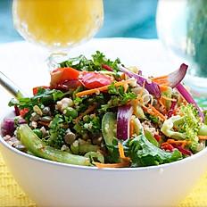 High Protein Lentil Salad