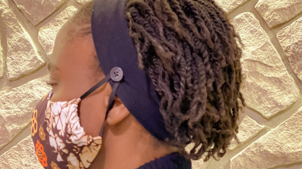 Protective Mask Ear Saver Headband