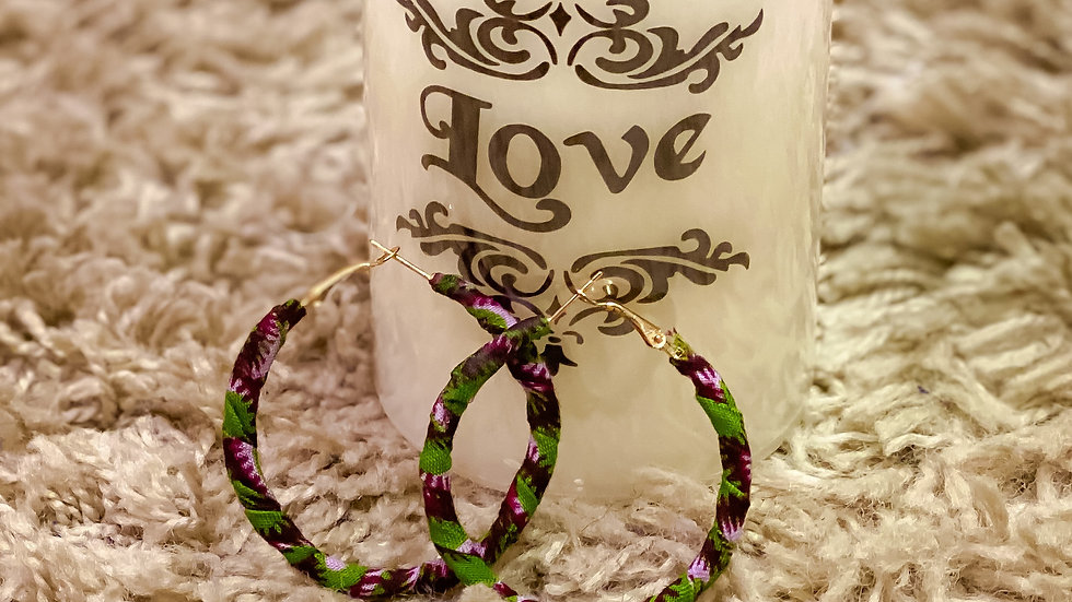Ankara Earrings