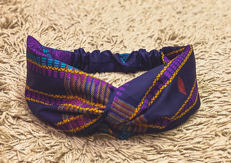 Ankara Infinity Head Band/Wrap