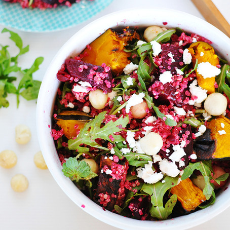 Beetroot & Pumpkin Salad