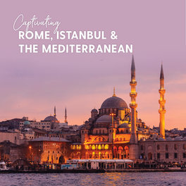 MSC- Captivating Rome%2c Istanbul & Med4