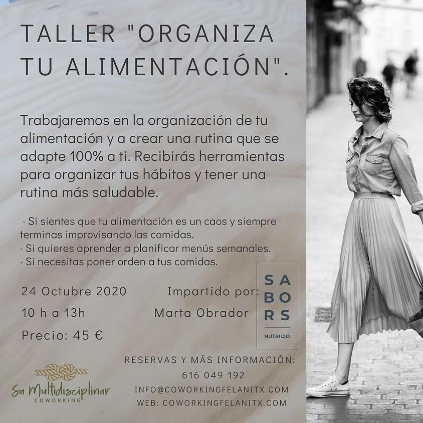 """Taller """"organiza tu alimentación"""""""
