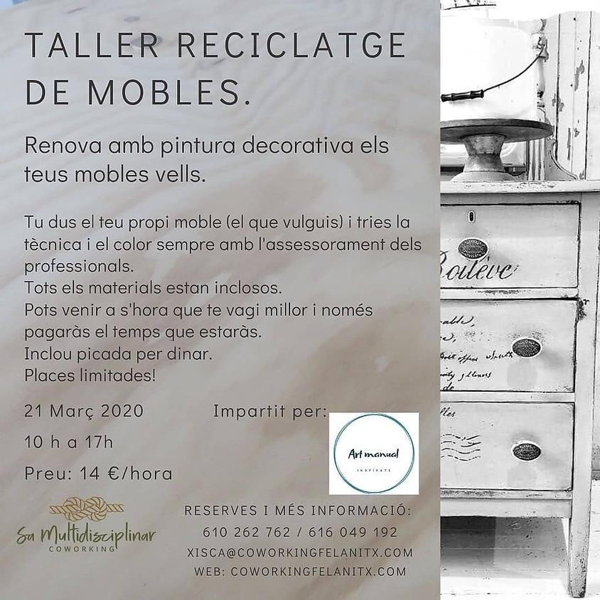 Taller reciclatge de mobles