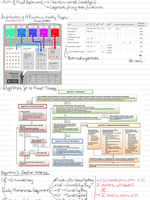 Medicine Year 2 Notes - Supporting Life Module Only