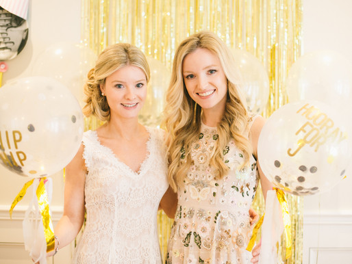Julia's Bridal Shower - A Pink and Gold Themed Party