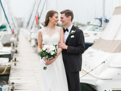 Chiara and Duncan - Mimico Cruising Club Wedding