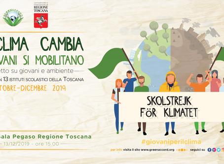 Oltre lo sciopero l'impegno Dai giovani toscani dodici progetti salva-clima