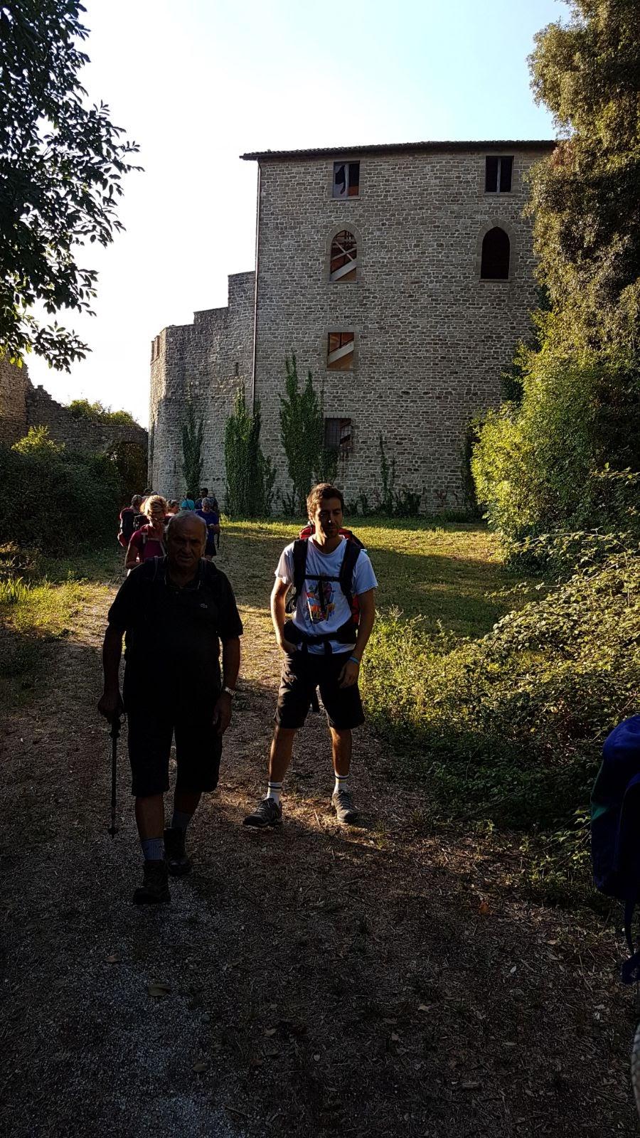 un castello abbandonato