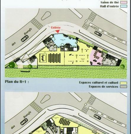 Yeni Kültür Merkezimizin mimar planları