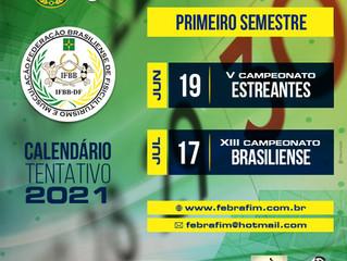 CALENDÁRIO TENTATIVO 2021(primeiro semestre)
