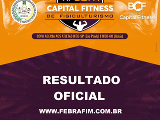 VII Copa Capital Fitness - Resultado Oficial