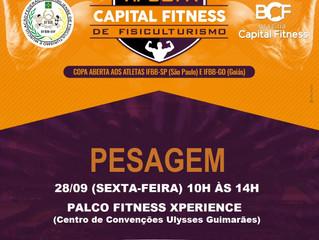 VII Copa Capital Fitness de Fisiculturismo - Pesagem Oficial