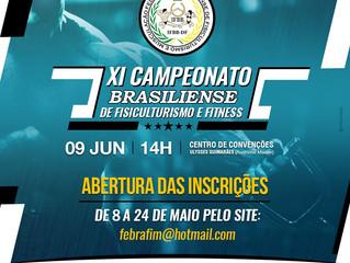 XI CAMPEONATO BRASILIENSE - INSCRIÇÕES AQUI!