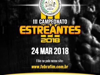 III Campeonato Estreante IFBBDF
