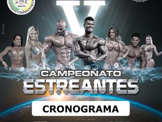 CAMPEONATO ESTREANTES-CRONOGRAMA