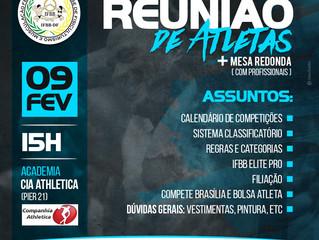 REUNIÃO DE ATLETAS