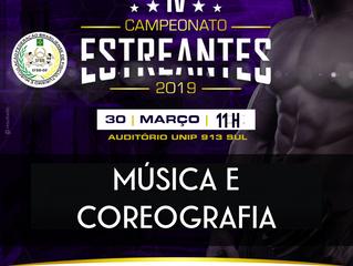 IV CAMPEONATO ESTREANTE-Coreografia e música