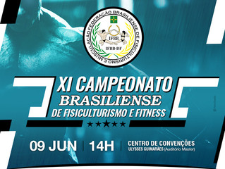 XI CAMPEONATO BRASILIENSE DE FISICULTURISMO E FITNESS