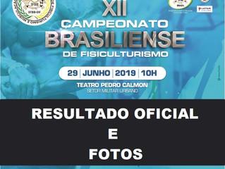 RESULTADO OFICIAL E FOTOS DO XII CAMPEONATO BRASILIENSE DE FISICULTURISMO