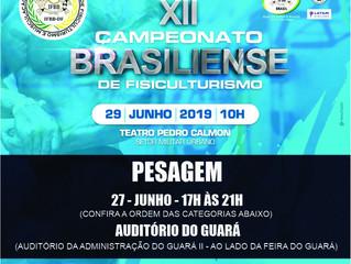 PESAGEM CAMPEONATO BRASILIENSE