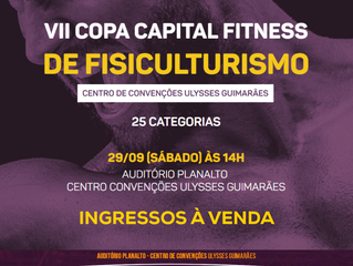VII Copa Capital Fitness de Fisiculturismo-Ingressos