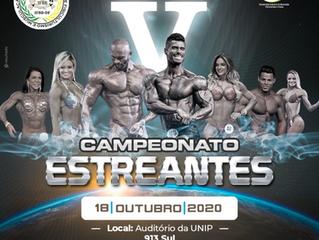 CAMPEONATO ESTREANTES-Inscrições abertas