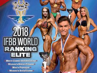 Ranking Mundial IFBB ELITE 2018