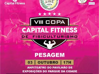 COPA CAPITAL FITNESS: Pesagem