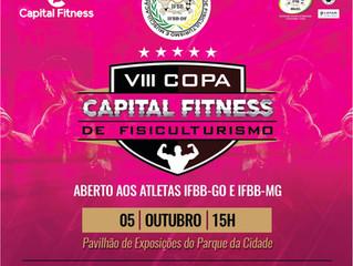 VIII COPA CAPITAL FITNESS DE FISICULTURISMO