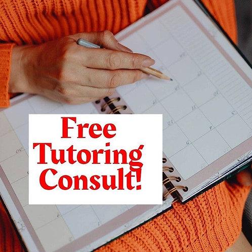 Free Tutoring Consult