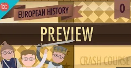 Crash Course European History is coming!
