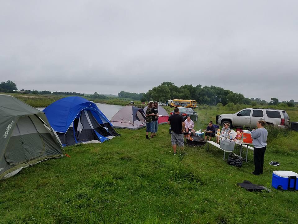 RV/ Camper Reserved Camping