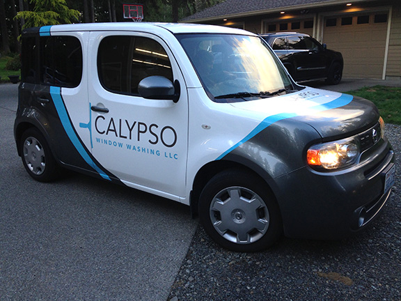 Calypso Vehicle Wrap