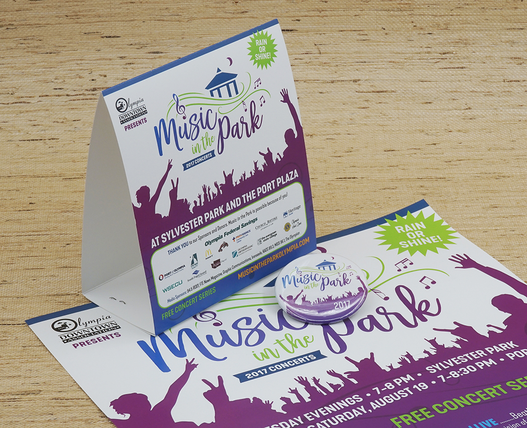 New Brand for Music in the Park