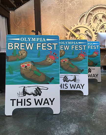BrewFest A-Boards